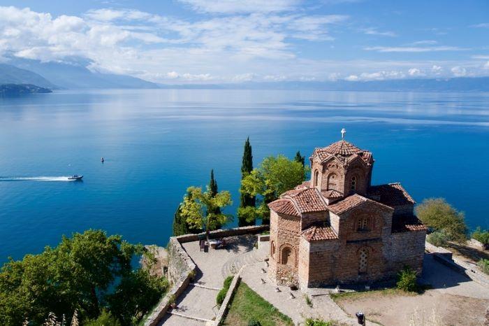 Macedonia Ohrid Church of St John at Kaneo