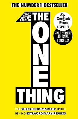 The One Thing Gary Keller 9781848549258