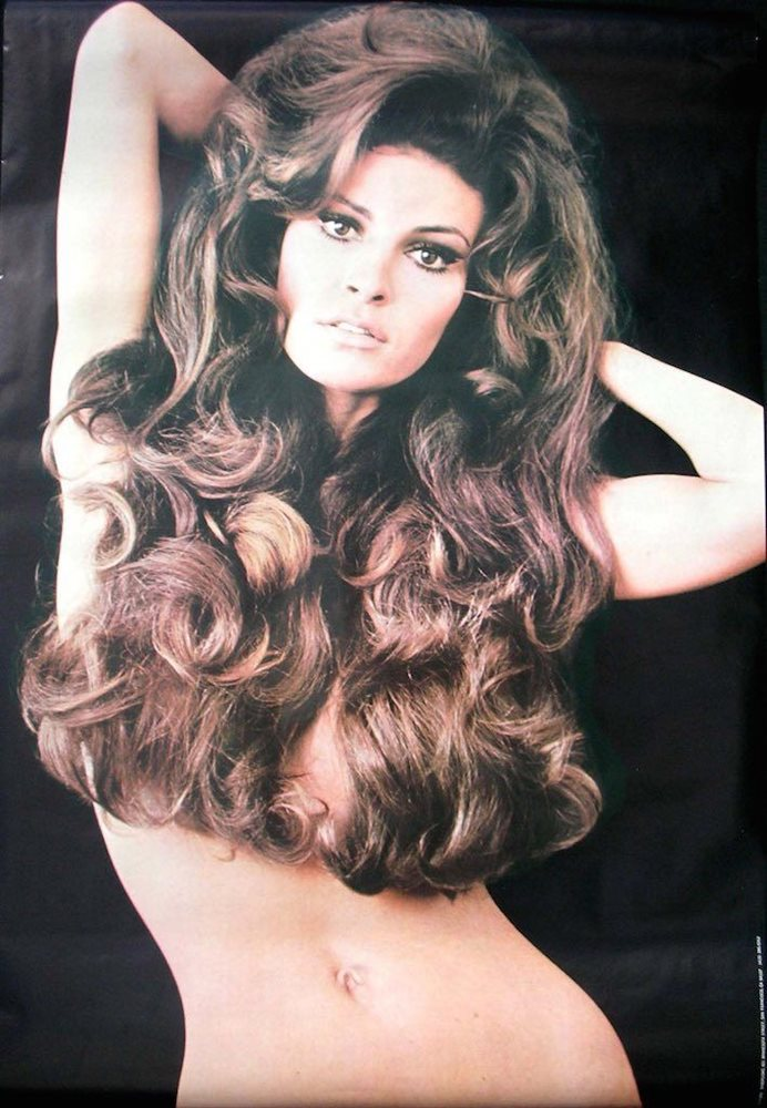 raquel welch vintage 1970 personality movie poster 24x36 very rare not a repro