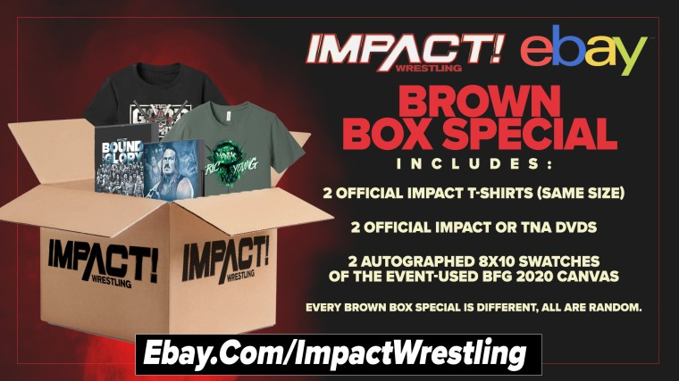 Get Your Brown Box Special from IMPACT Wrestling's eBay Store – IMPACT Wrestling