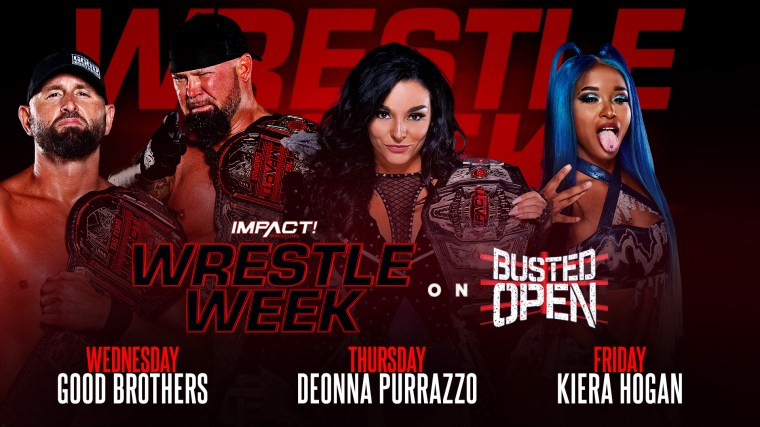 Wrestle Week Comes to SiriusXM Busted Open – IMPACT Wrestling