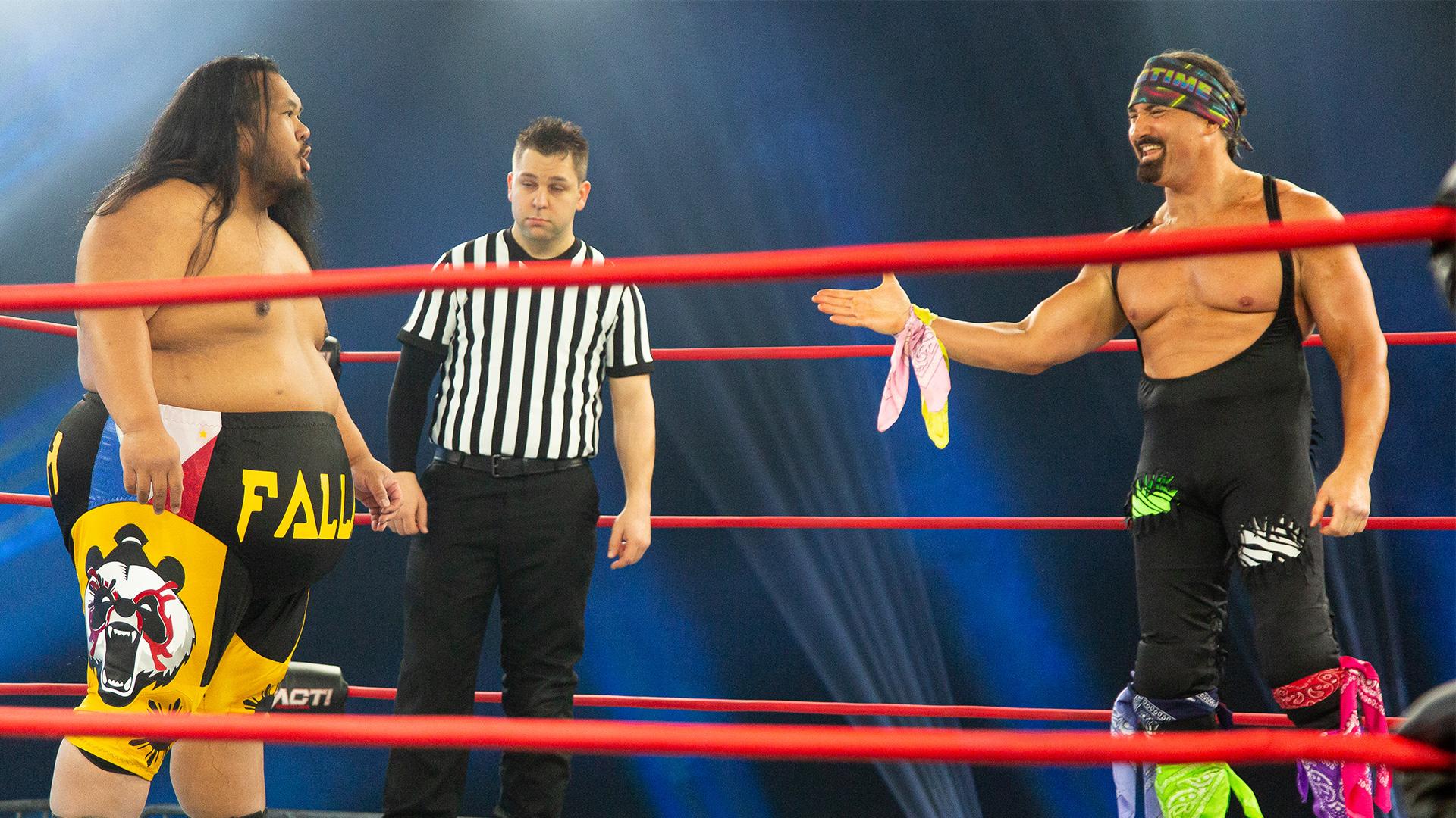 Johnny Swinger Sends Fallah Bahh for a Ride on BTI – IMPACT Wrestling
