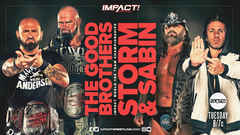 "Impact Wrestling Preview (2/9): World Tag Team Title Defense, Go-Home Show For ""No Surrender"""