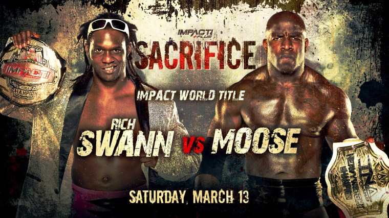 IMPACT World Title & Knockouts Tag Title Matches Official for Sacrifice – IMPACT Wrestling