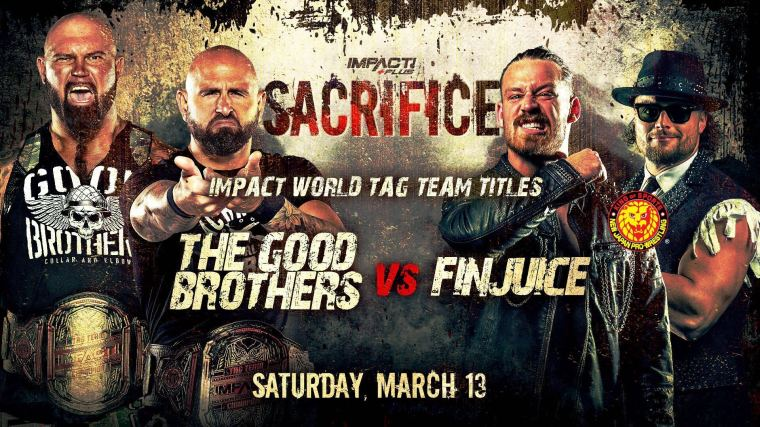 Three More Title Matches Confirmed for Sacrifice – IMPACT Wrestling