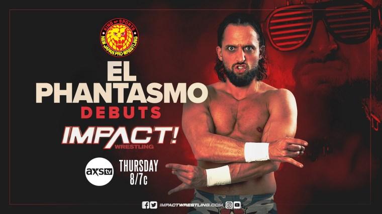 El Phantasmo Set to Make IMPACT Debut Next Week – IMPACT Wrestling