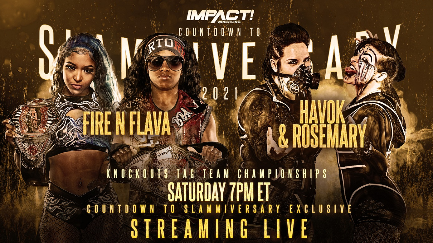 Countdown to Slammiversary to Feature an Exclusive Championship Match – IMPACT Wrestling