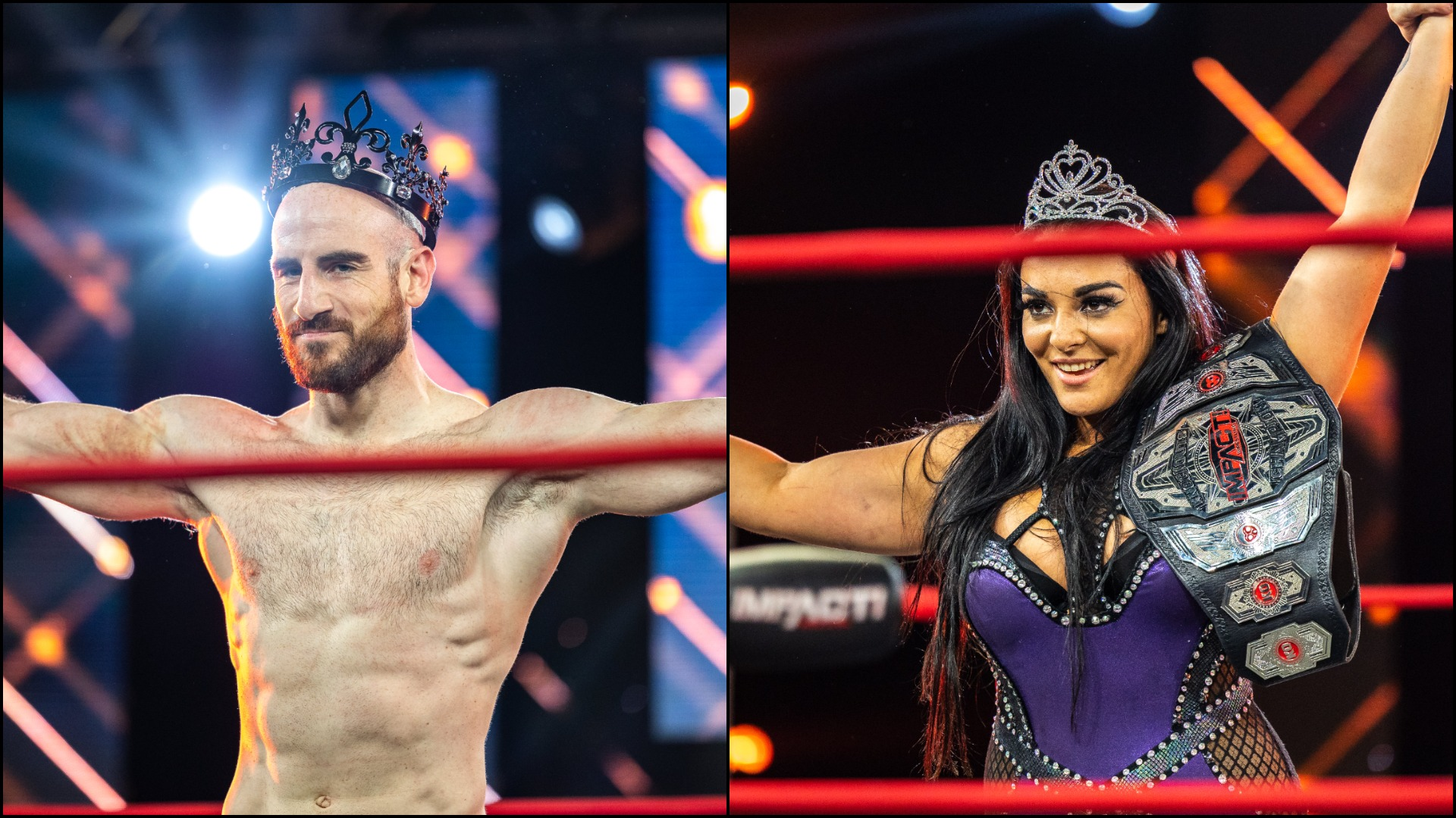 Drama King & Virtuosa Queen Following Flawless Tournament Performance – IMPACT Wrestling
