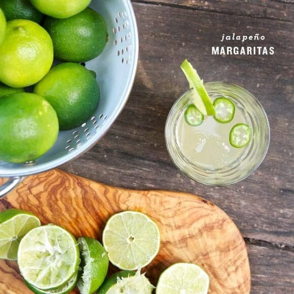 Jalapeno Margaritas by Love and Lemons