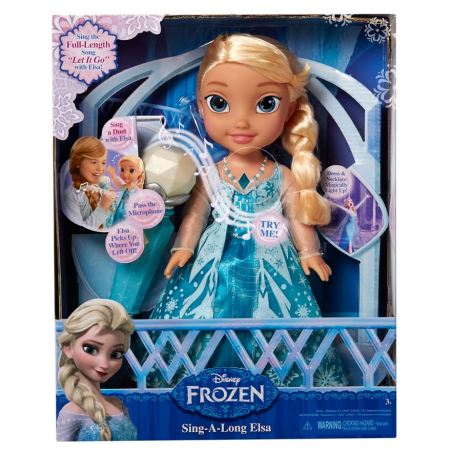 Disney Frozen Sing Along with Elsa Doll image-3
