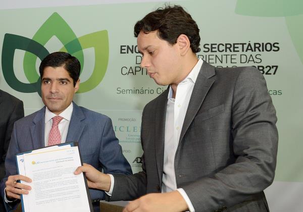 O secretário de Sustentabilidade de Salvador, André Fraga (Foto: Valter Pontes/ Secom)