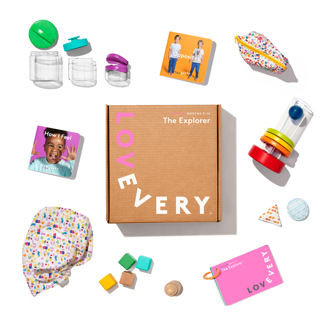 The Explorer Play Kit by Lovevery