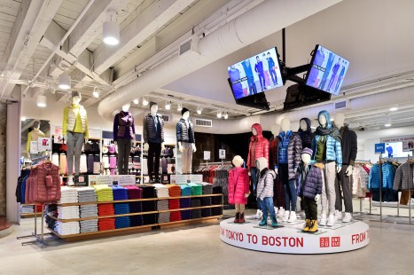 Uniqlo Pop-Up; Faneuil Hall Marketplace, Boston