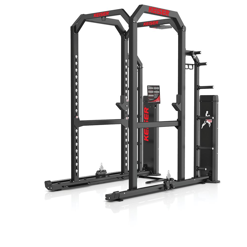power rack strength training keiser