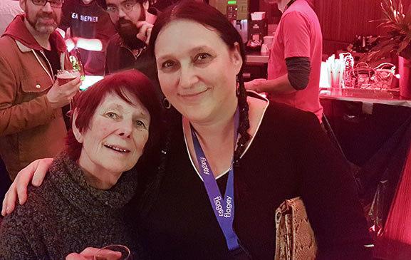 Karin Vandenrydt and Nancy