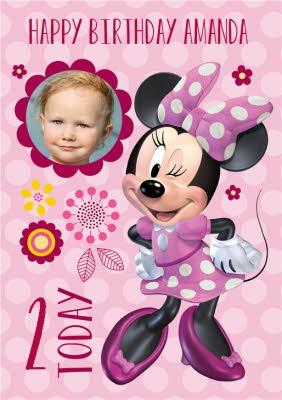 Minnie Mouse Birthday Card Moonpig