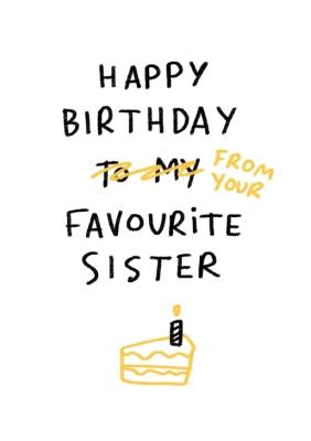 Funny Sister Birthday Cards Moonpig