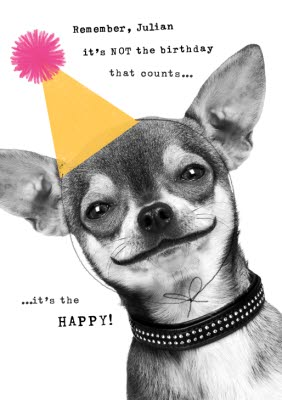 Birthday Cards From The Dog Moonpig