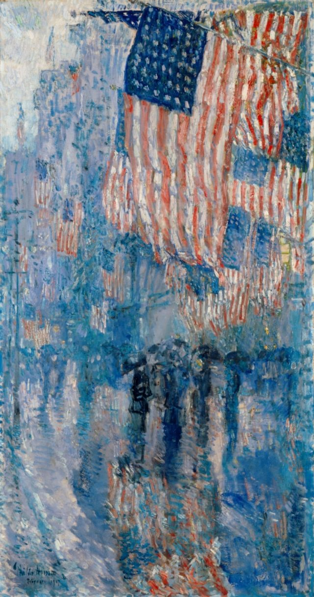 Treasures of the White House: Avenue in the Rain - White House Historical  Association