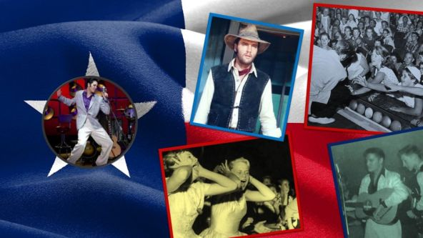 Elvis Presley said Texas put him on top in his early career.