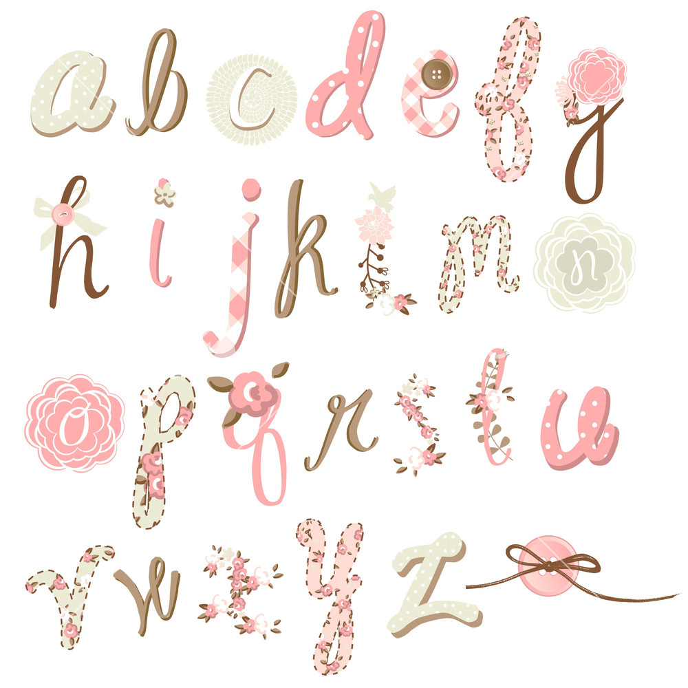 Girly Tattoo Lettering Styles