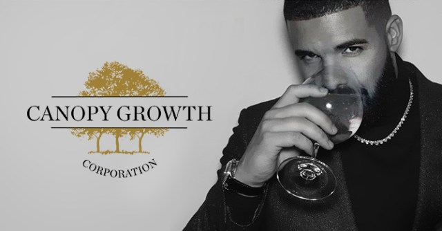 Image result for Drake and canopy growth