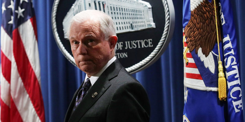 JeffSessions 800x400 BREAKING NEWS: Feds rescind The Cole Memo opening the floodgates for dispensary crackdowns