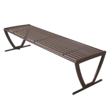 augusta outdoor backless bench