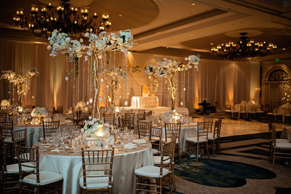 Gold Amp White Wedding With Brazilian Indian Flair In
