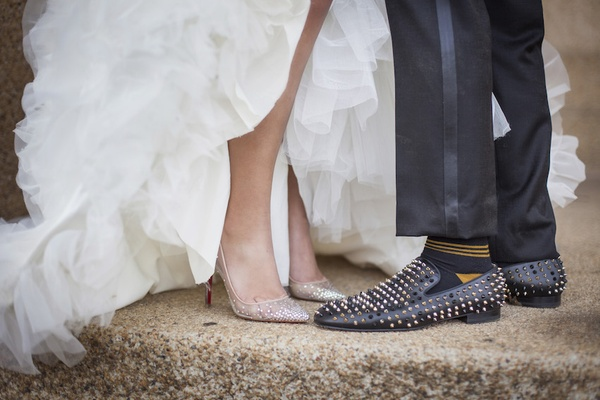 NFL Tennessee Titans Player's Gold + White Wedding In