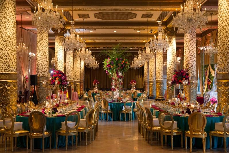 Reception Dcor Photos Opulent Marrakesh Motif In
