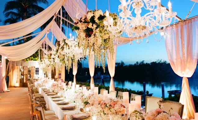 A Gorgeous And Elegant Outdoor Florida Wedding