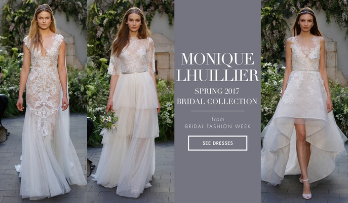 Whimsical And Dramatic Wedding Dresses From Monique