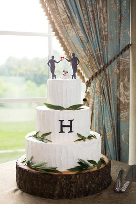 Sophisticated Gay Wedding With Organic Elegant Theme At