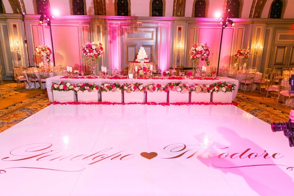 Romantic 30th Wedding Anniversary Amp Vow Renewal With Pink