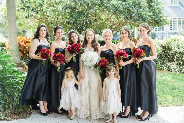 Old-World Wedding With Jewel Tone Color Palette In Florida