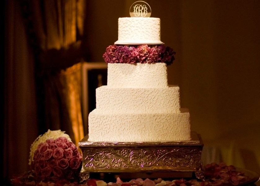 Square Wedding Cakes   Cake Ideas   Inside Weddings Discover cakes that forgo traditional round layers