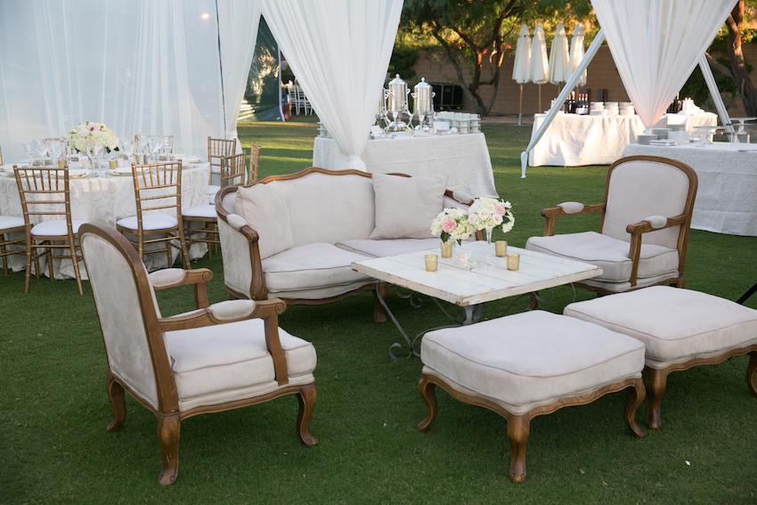 Wedding Lounge Areas: Lounge Furniture Rentals