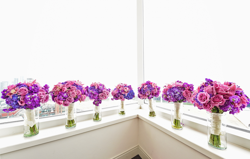 Lilac Bouquet Ideas & Purple Bouquets From Real Weddings