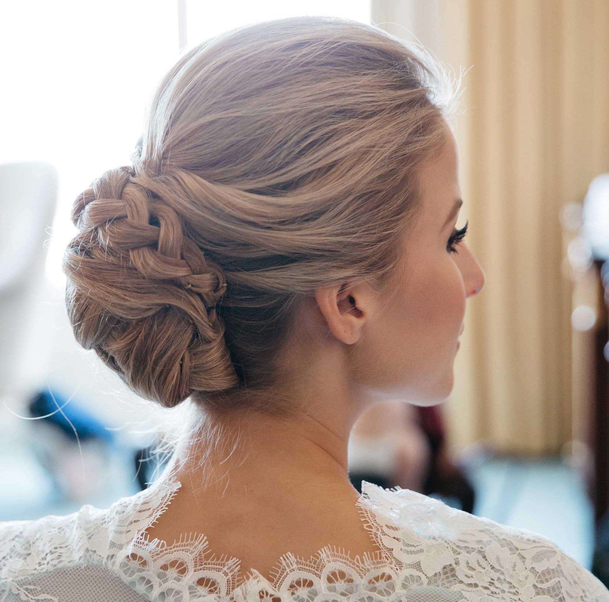 Loose Braided Bridal Hairstyles