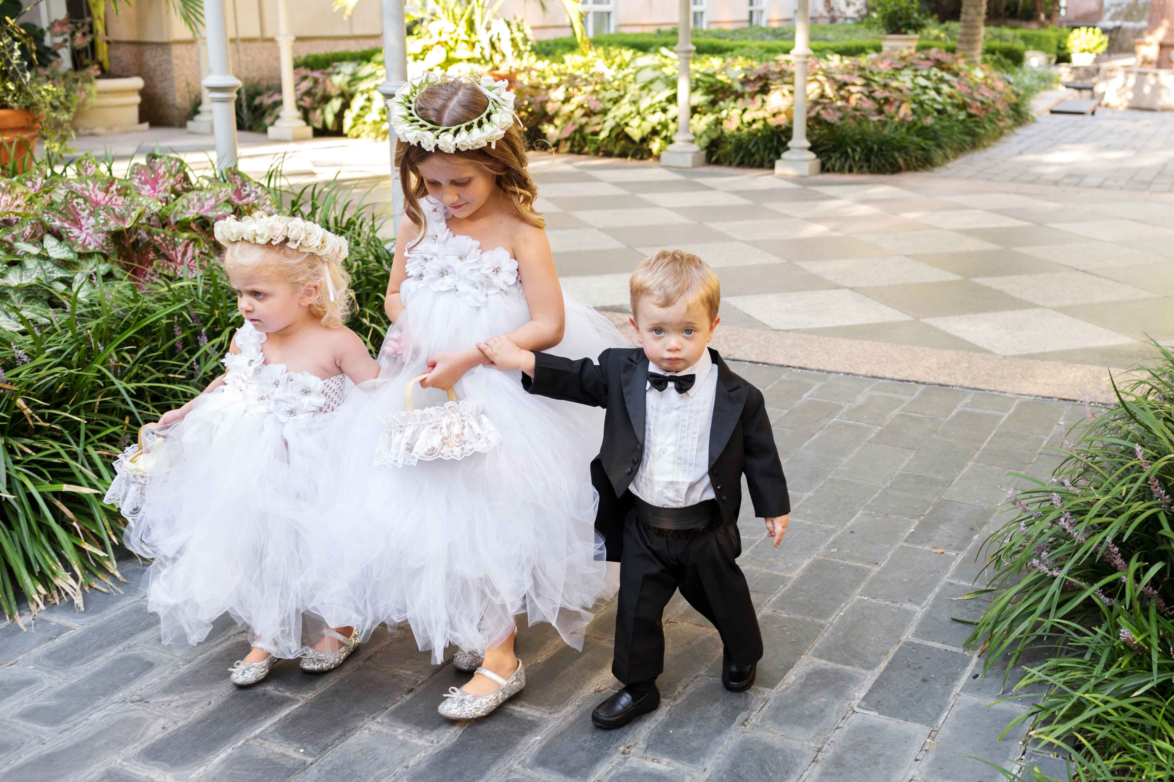 Etiquette Tips: Asking Children To Be In Your Wedding
