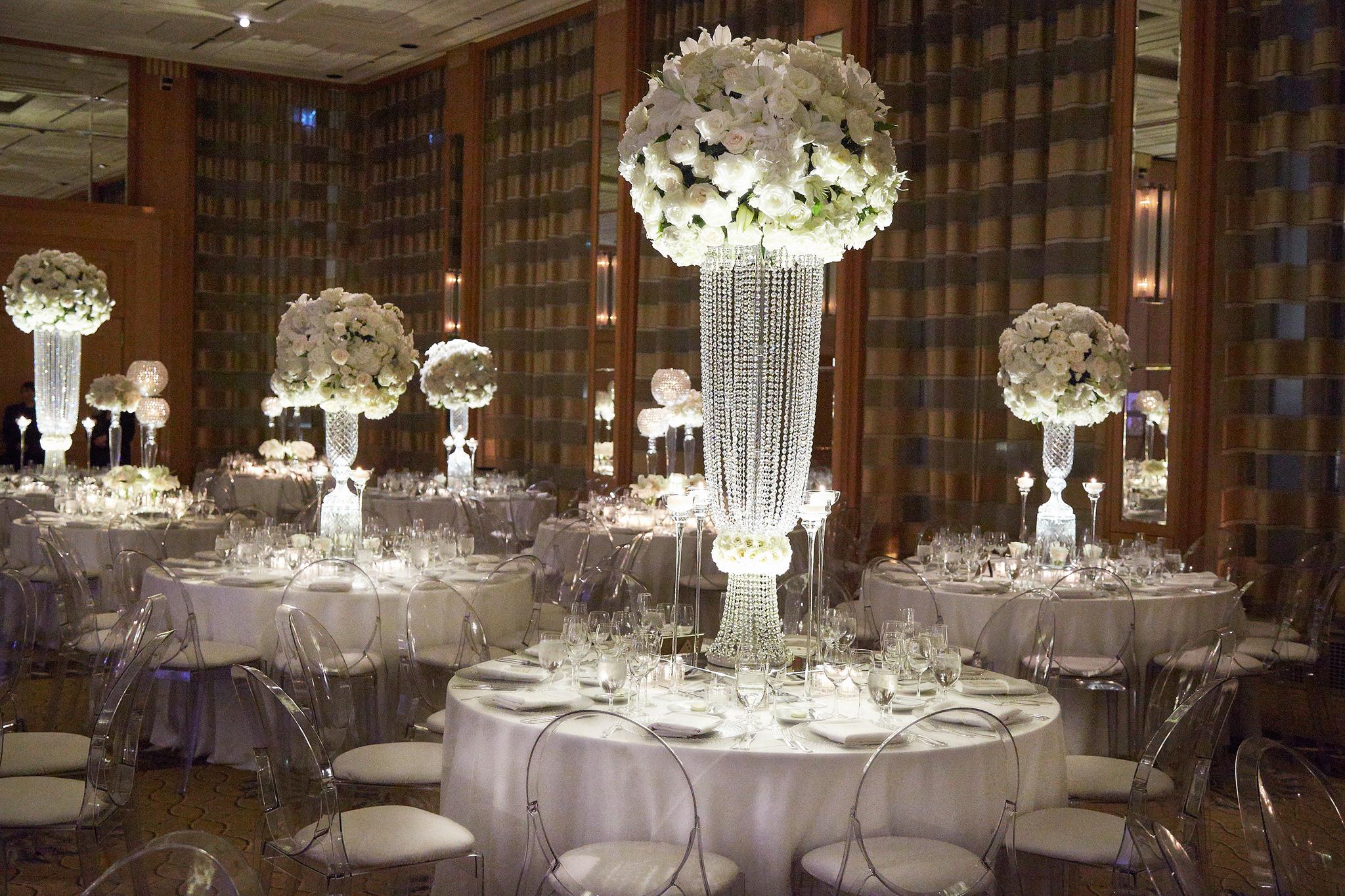 Wedding Reception Ideas: Choosing Tall Vs. Short