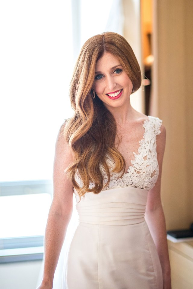 wedding hair: pretty hairstyles for brides with long hair