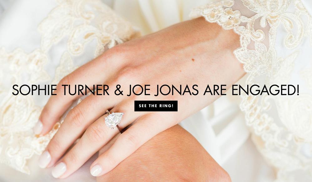 Sophie Turner Amp Joe Jonas Are Engaged See Her Ring