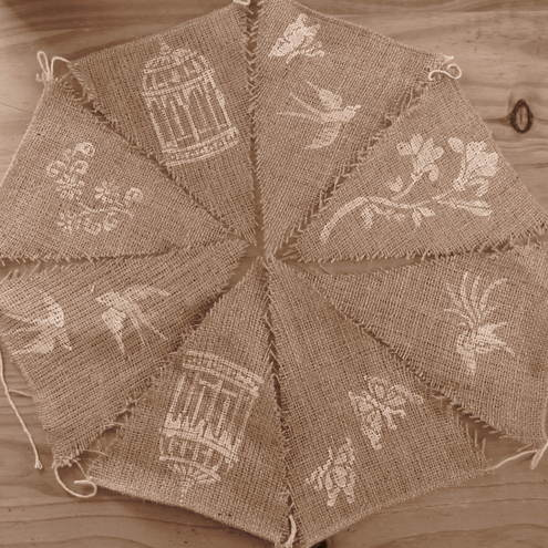 Hessian vintage bunting - Goodwill Bunting