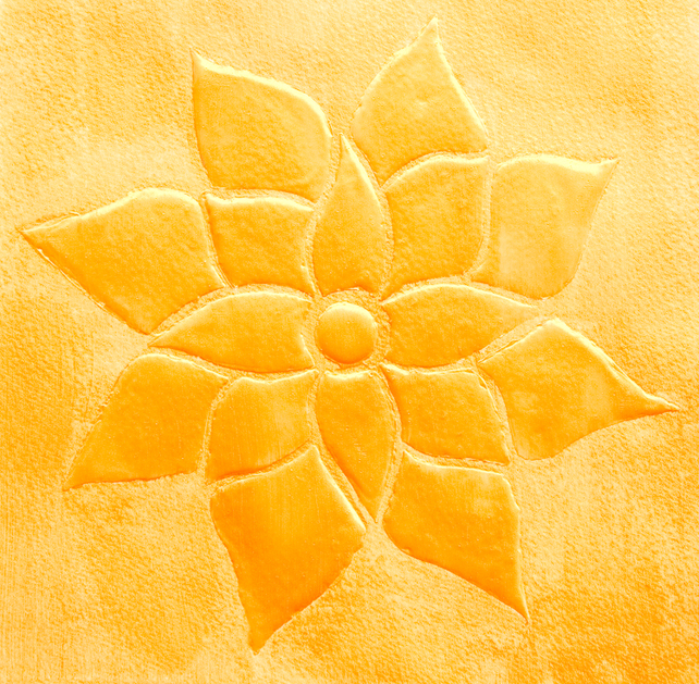 "Art notecard ""Sunflower"" by Fenfolio"