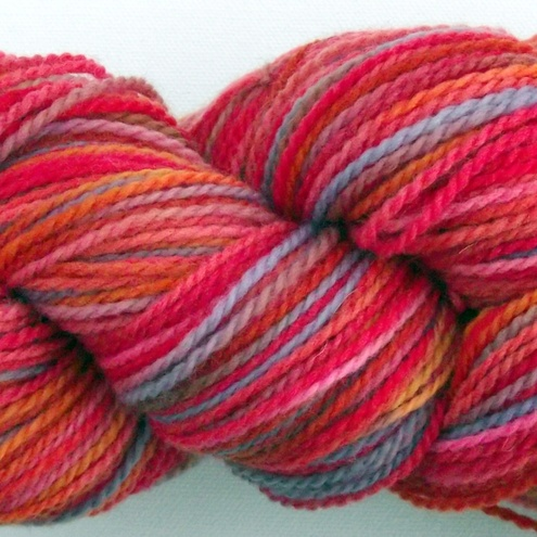 100% Merino Wool Sock Yarn 'The Rose Garden'