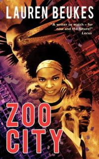 Zoo City by Lauren Beukes book cover