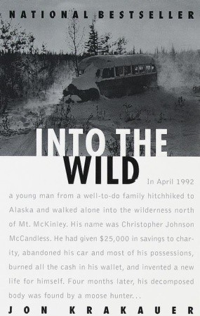 Favorite Books from School | Into the Wild by Jon Krakauer | The 1000th Voice blog