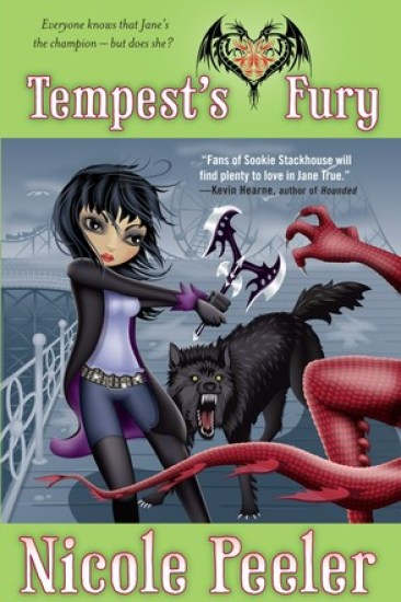 Early Review – Tempest's Fury (Jane True #5) by Nicole Peeler
